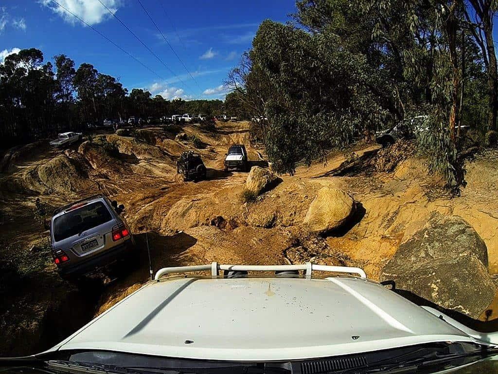 Mundaring mud hills