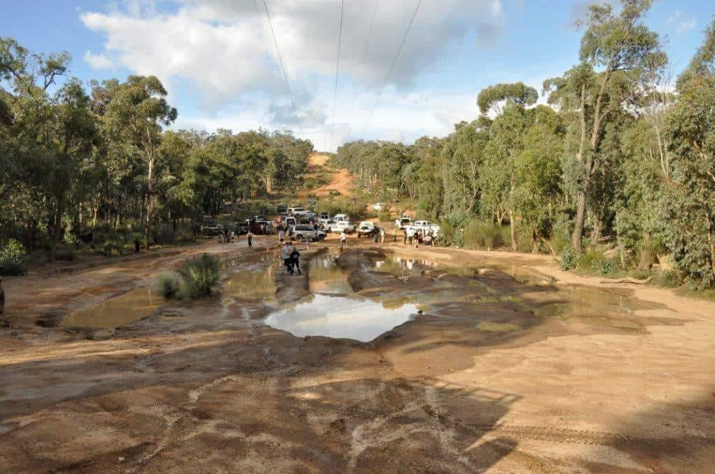 Mundaring mud runs