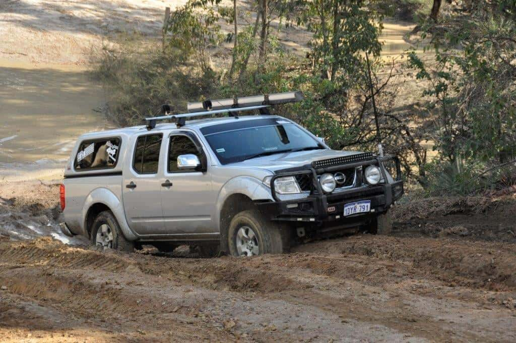 Nissan Navara at Mundaring