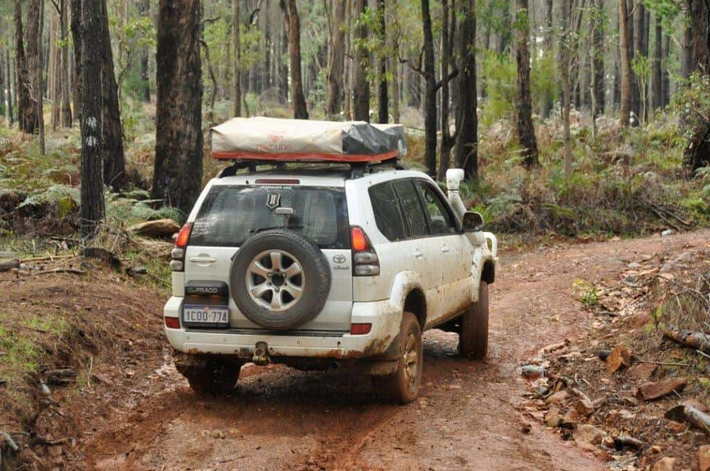 Prado 4x4 drifting