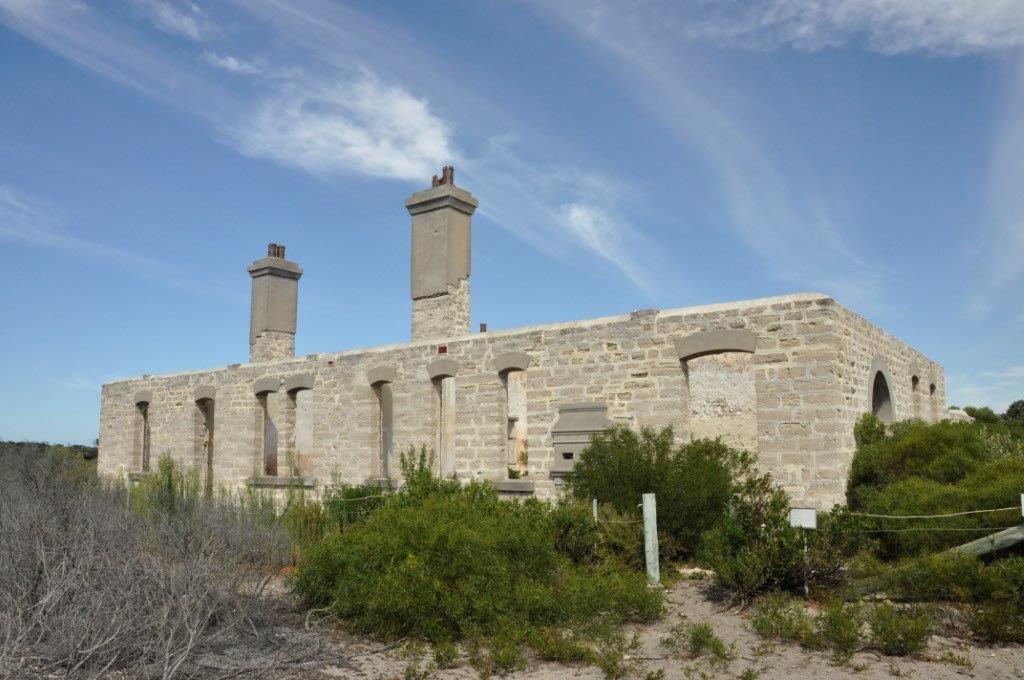 The telegraph station at Israelite