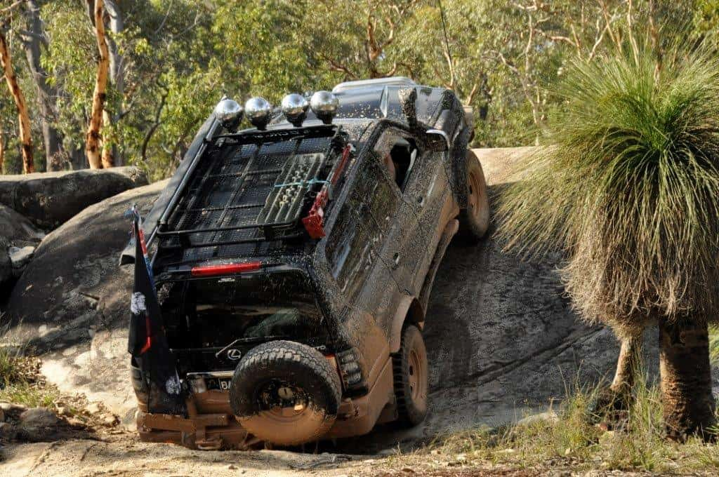 Using your 4WD for what its built to do