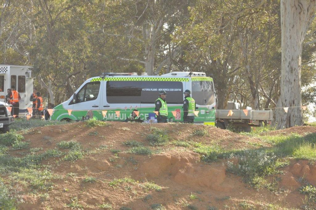 Ambulance at Mogumber