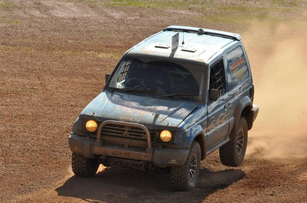 Bouncing the pajero