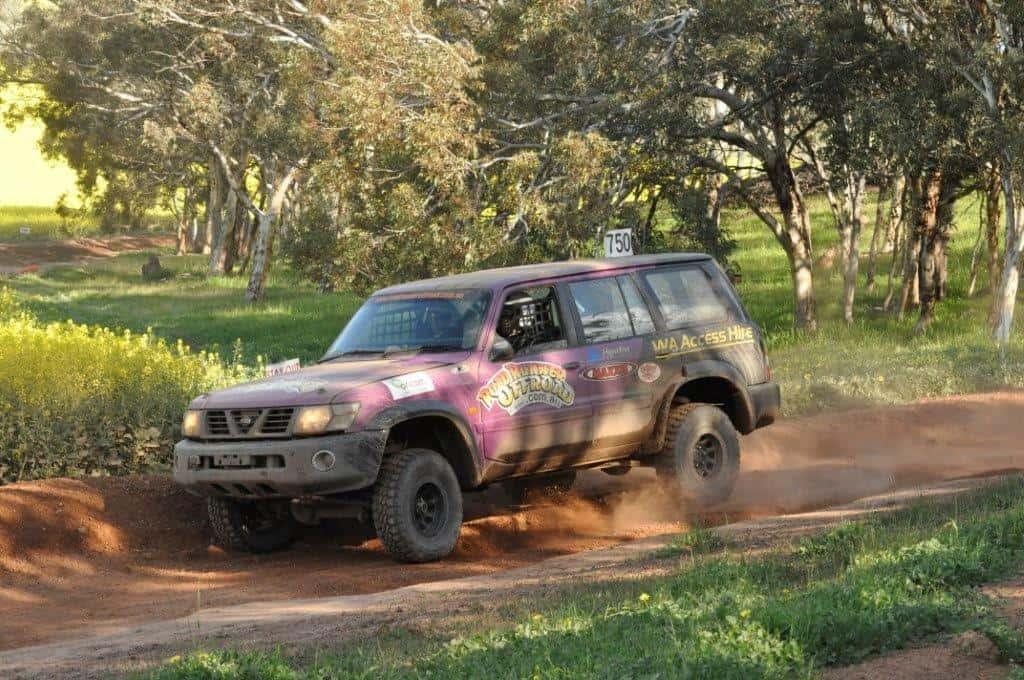 GU Patrol at Mogumber