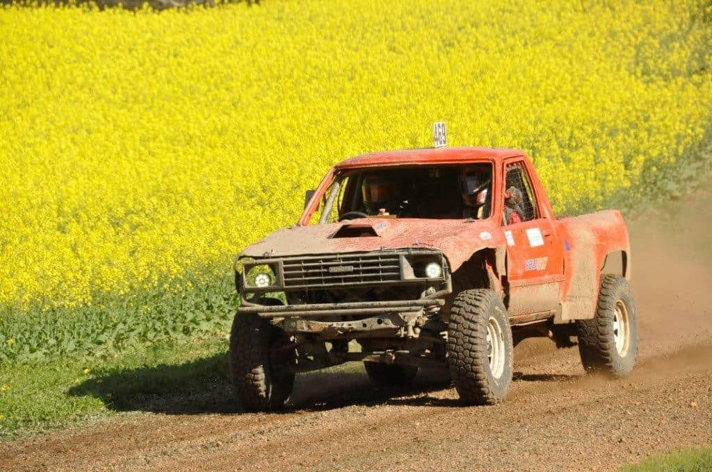 Hilux racing at Mogumber