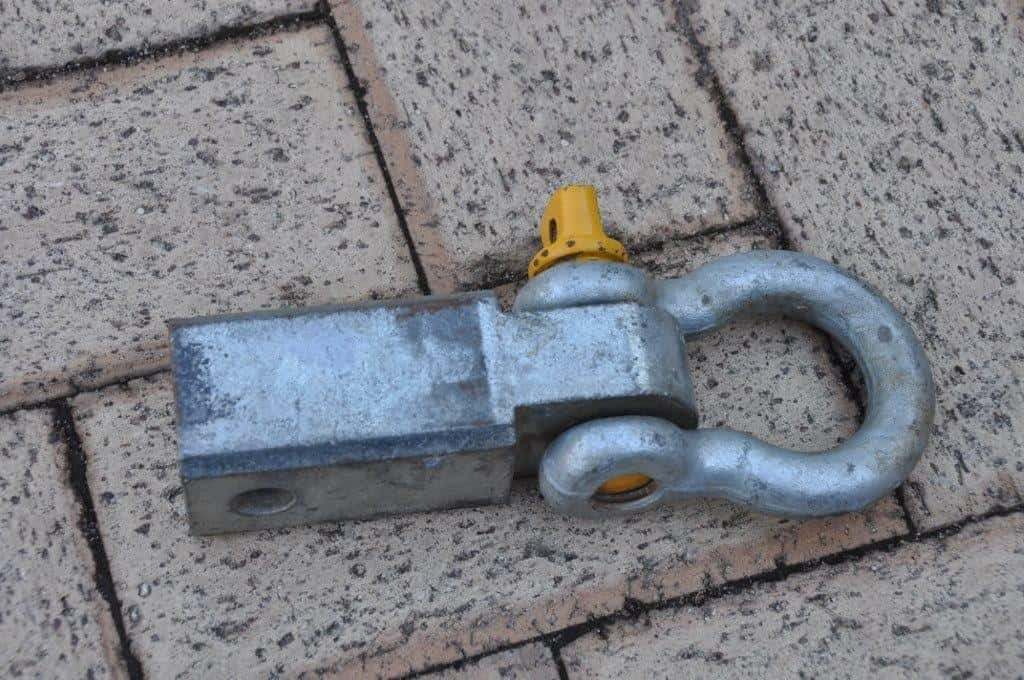 Rated hitch receiver