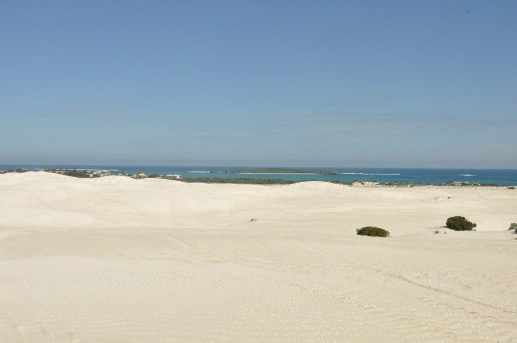 Lancelin Island from the dunes