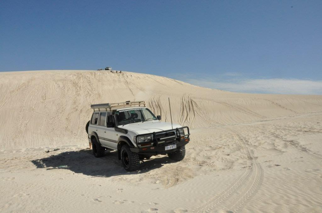 Lancelin Sand Dunes in the 80