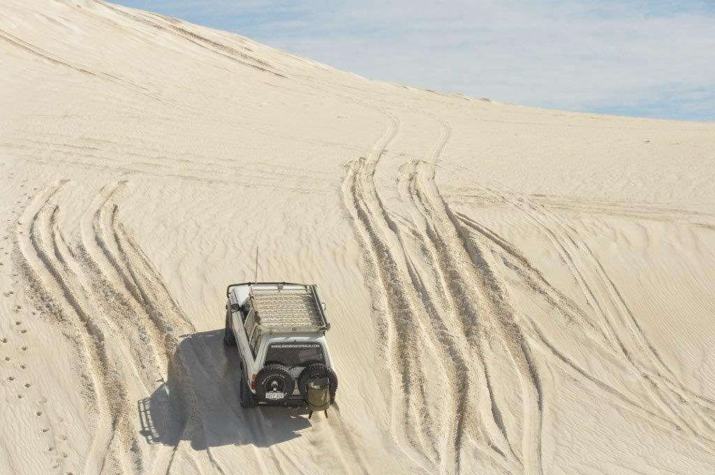 Lancelin Sand dunes in the 80 series