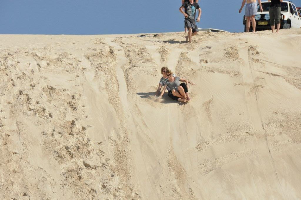 Lancelin Sandboarding