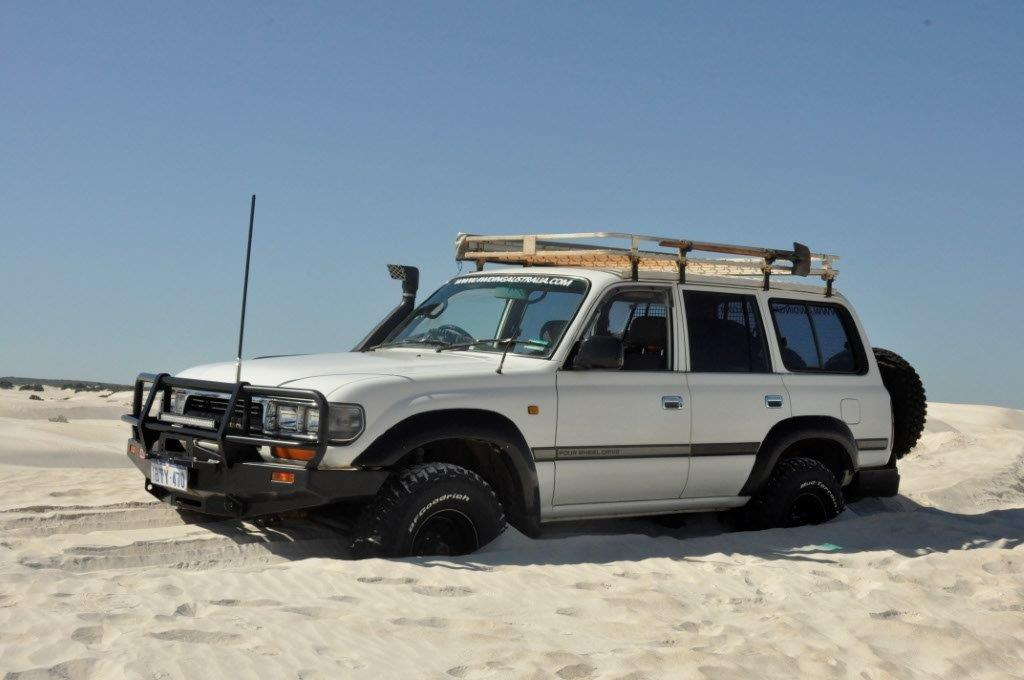 Lancelin dunes bogged