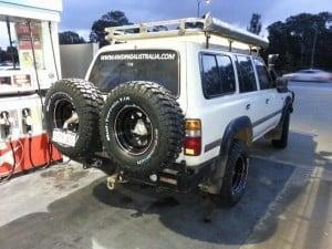4WDing Australia 80 series