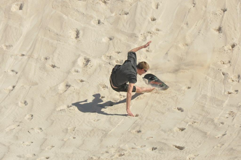 Sand Boarding stack