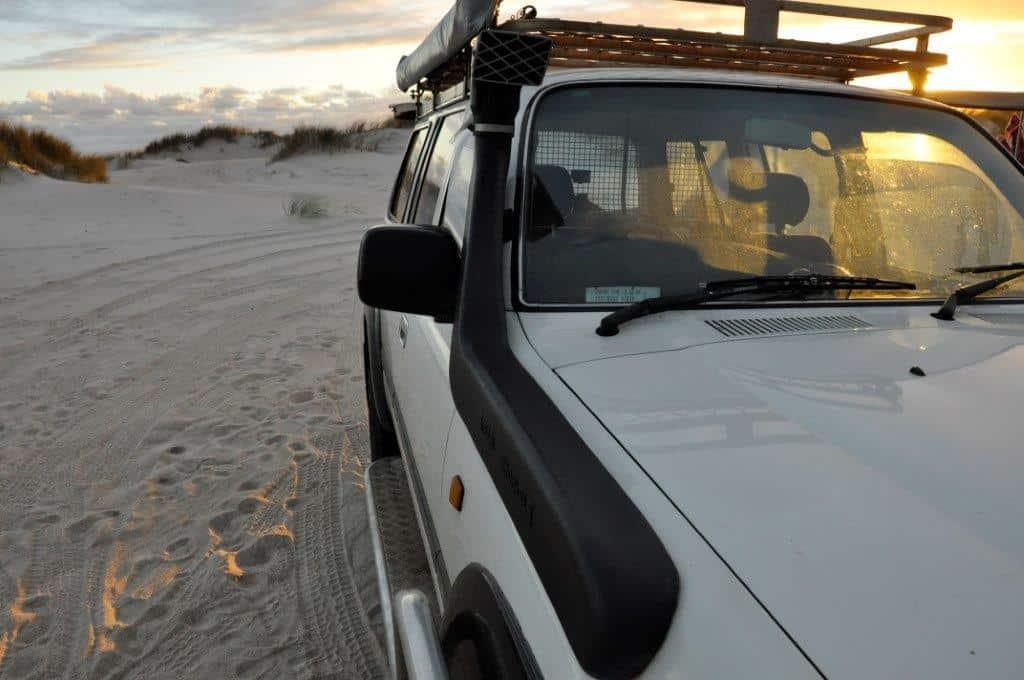 Snorkel on a 4WD