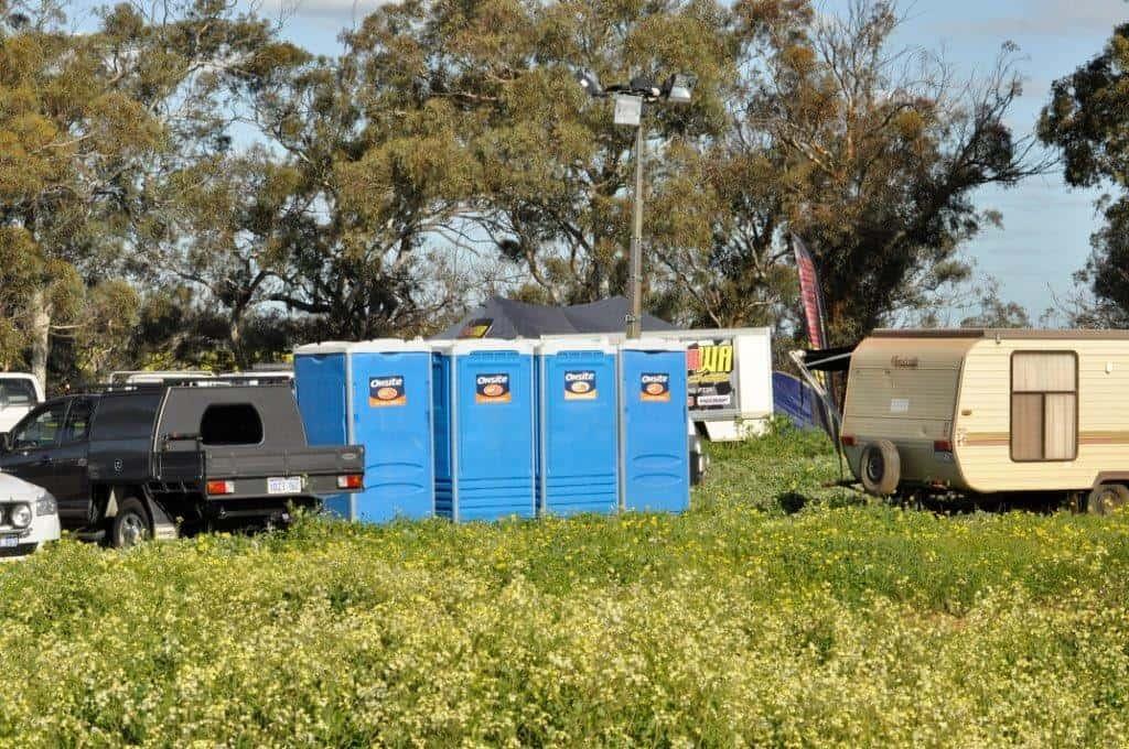 Toilets at Mogumber