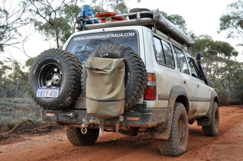 80 Series rear bar