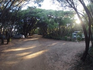 Parry Beach Camping