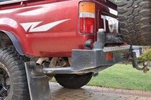 Rear Bar Panel protection