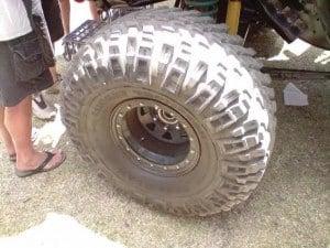 4x4 tyre legalities