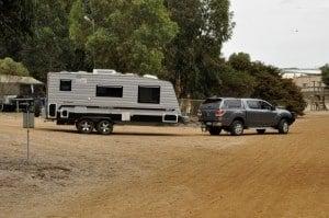 Heavy caravan