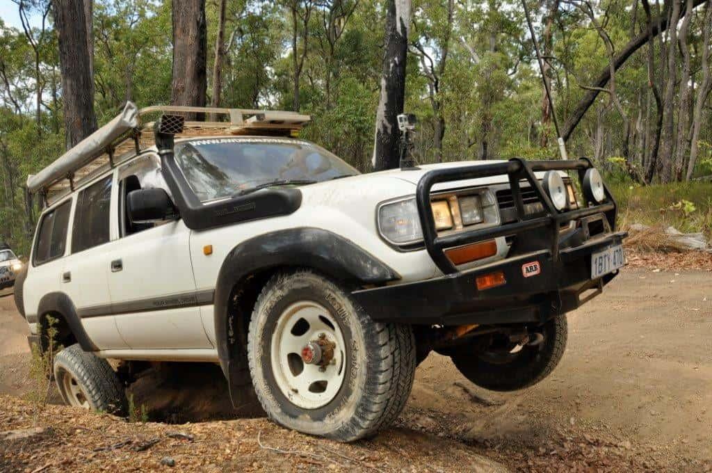 4WDing Australias Landcruiser