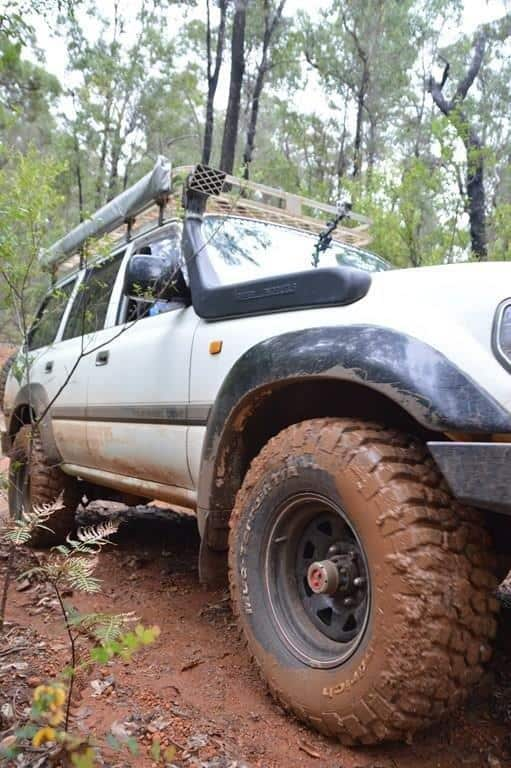 4WD tyre rotation