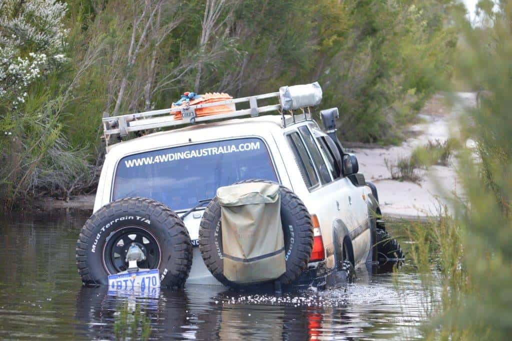 Badly bogged 80