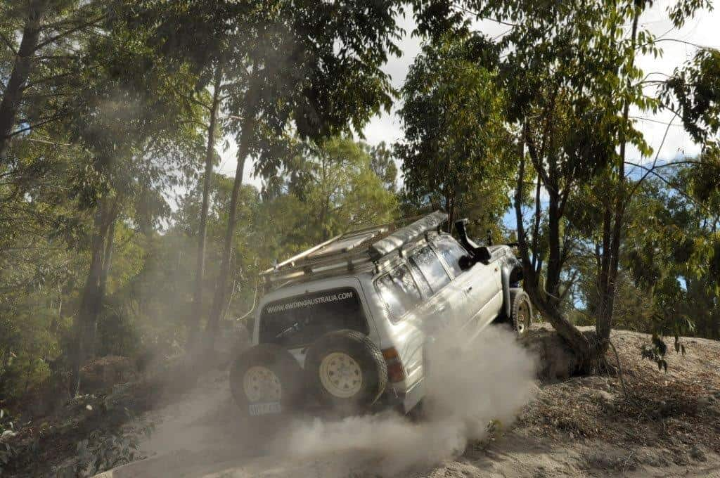Black Diamond 4WD section