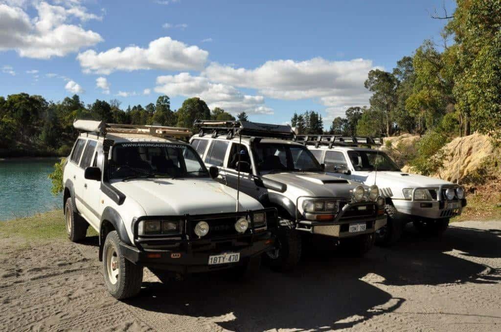 Black Diamond in the 4WDs