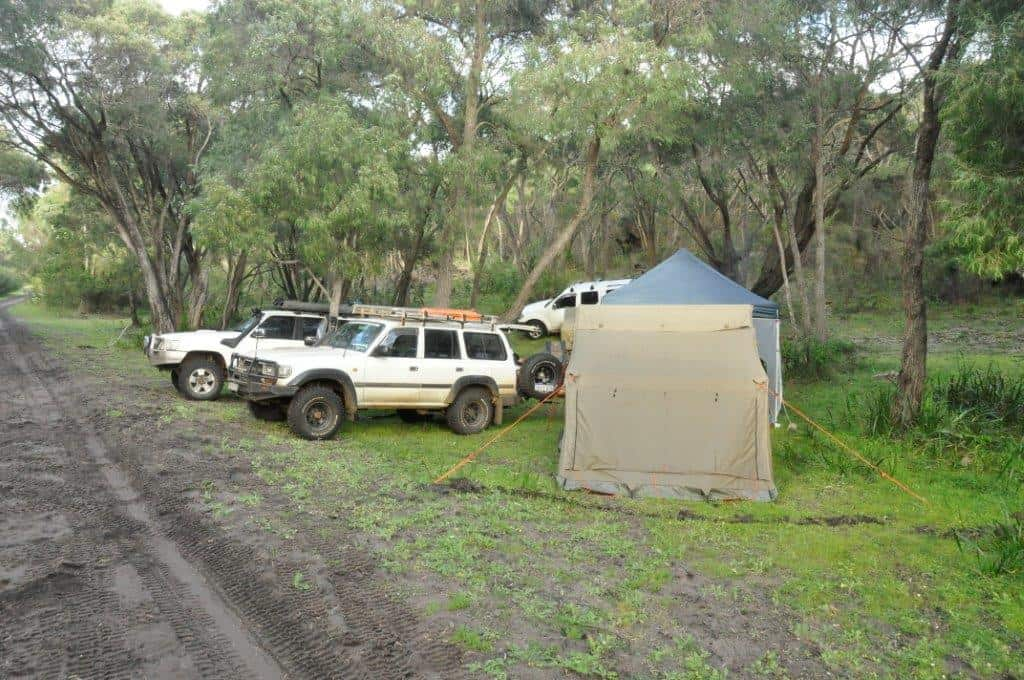 Camping at Milyeannup