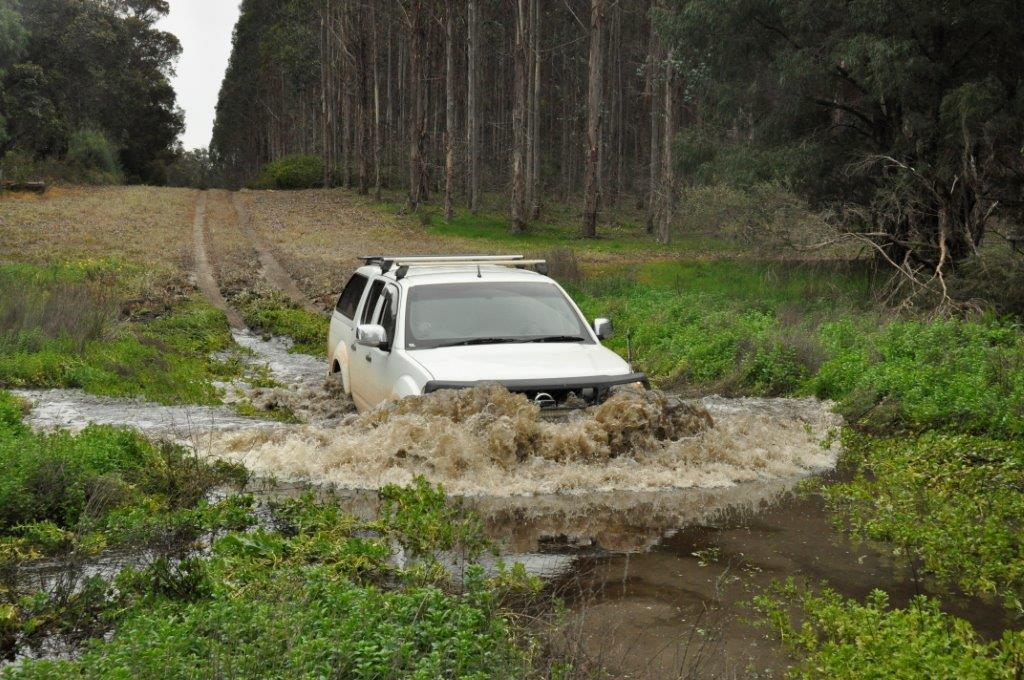 Navara water crossing