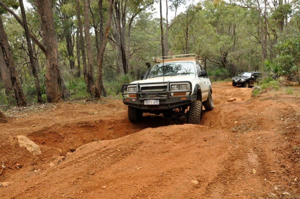 A small 4WD Track at Jarrahdale
