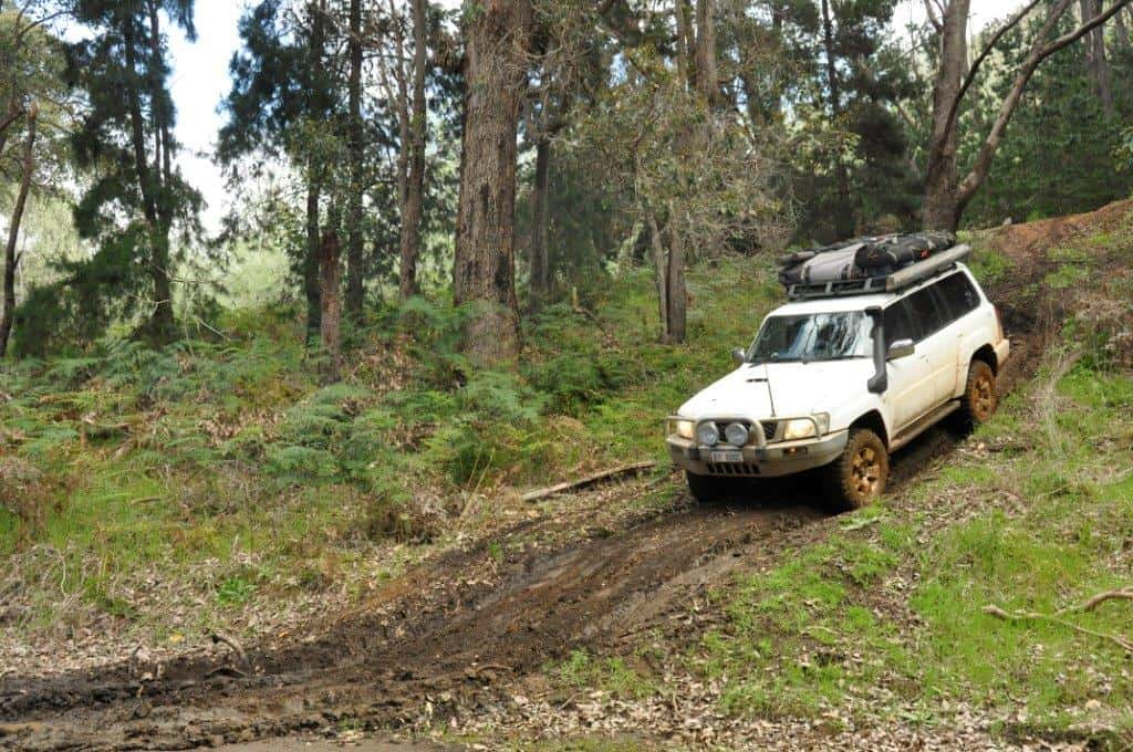 Mud 4WDing near Nannup