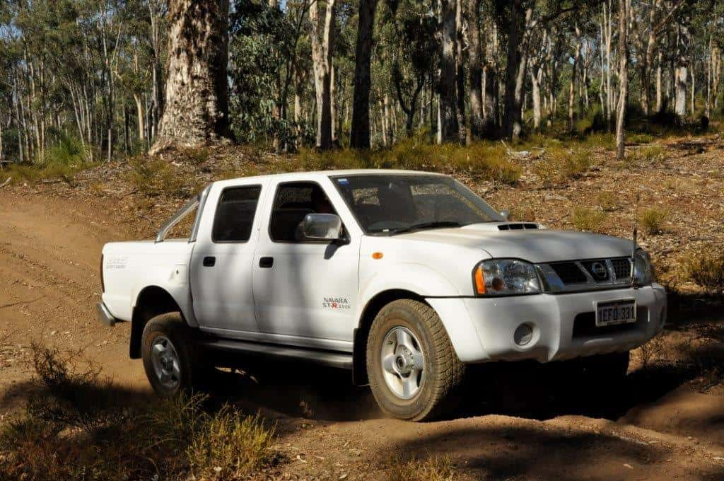 New D22 Navara off road