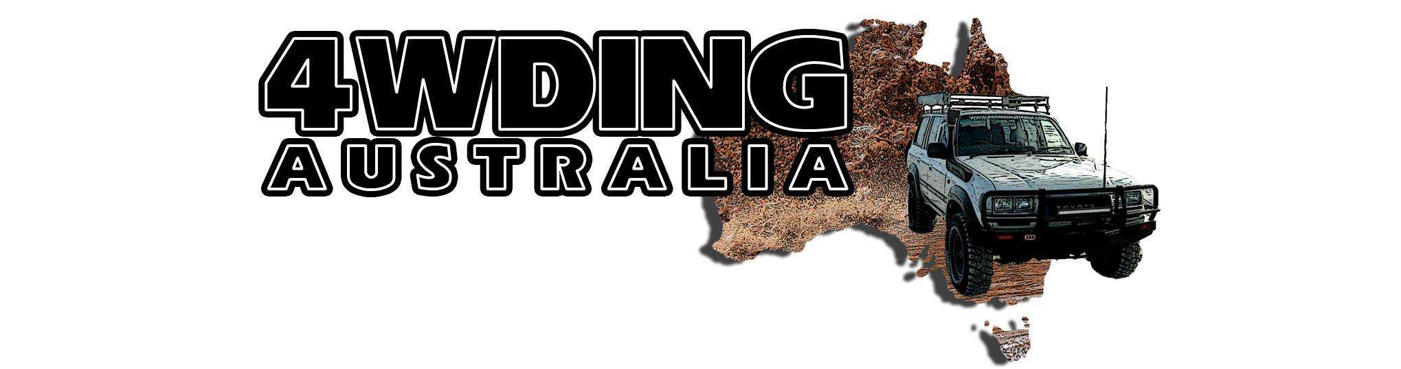 4WDing Australia header image