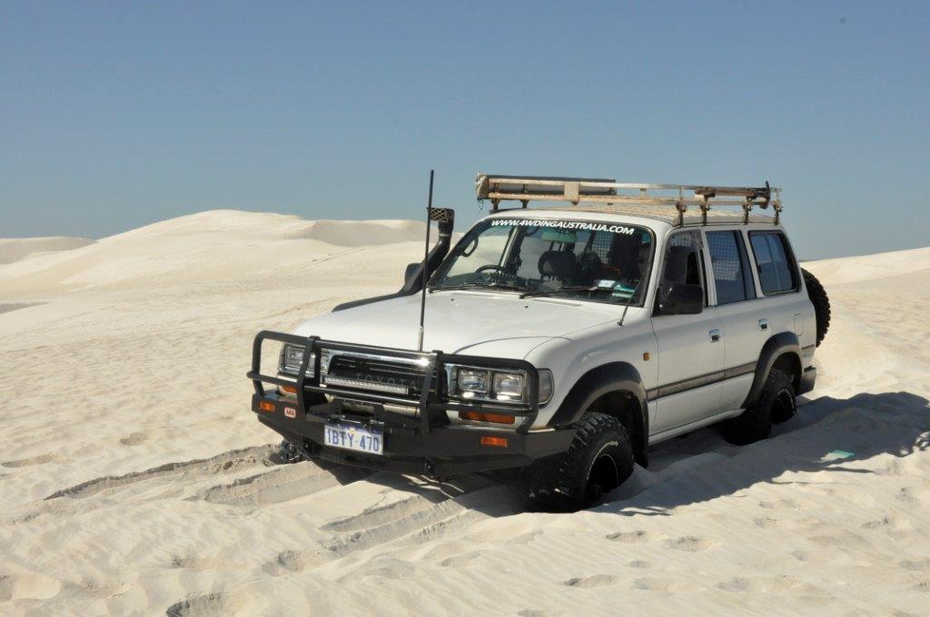 Lancelin Sand Dunes bogged
