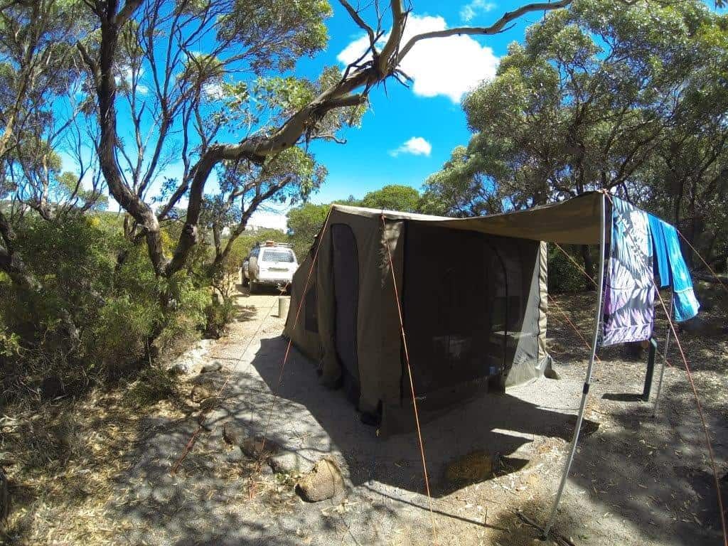 Camping at Waychinicup