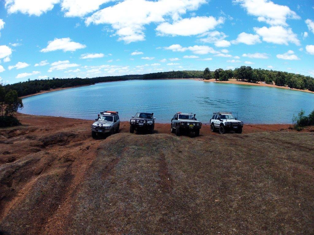 Enjoying the dam