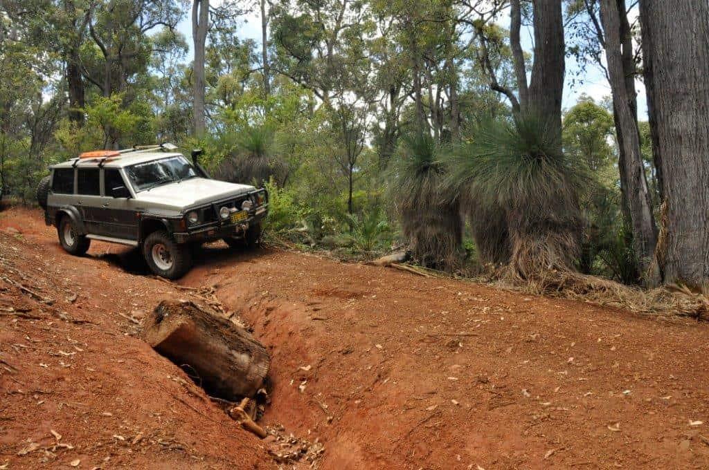 Exploring tracks around Waroona