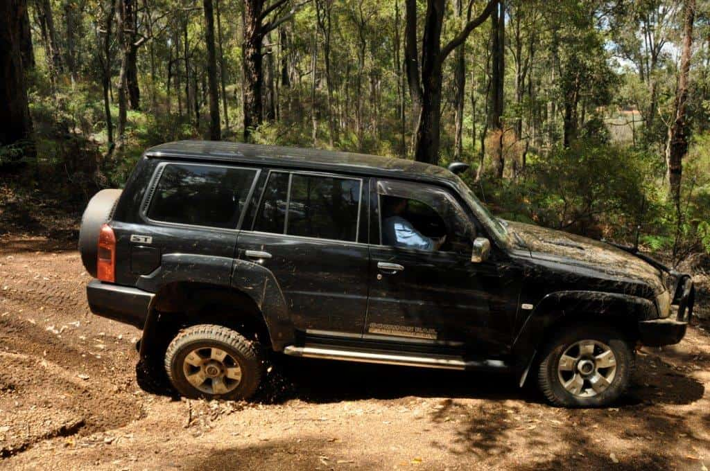 Black 4WD colour choice