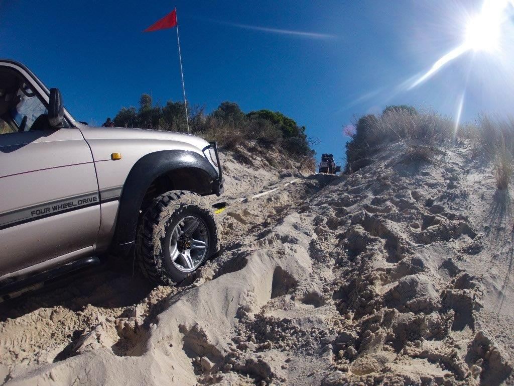 4WD recovery at Yeagarup