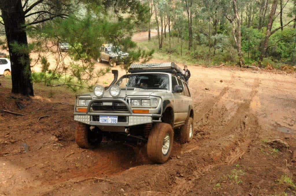 Legal 4WD's are not that common