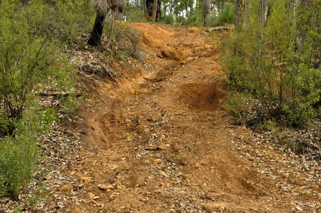 A nice 4WD Track at Dwellingup