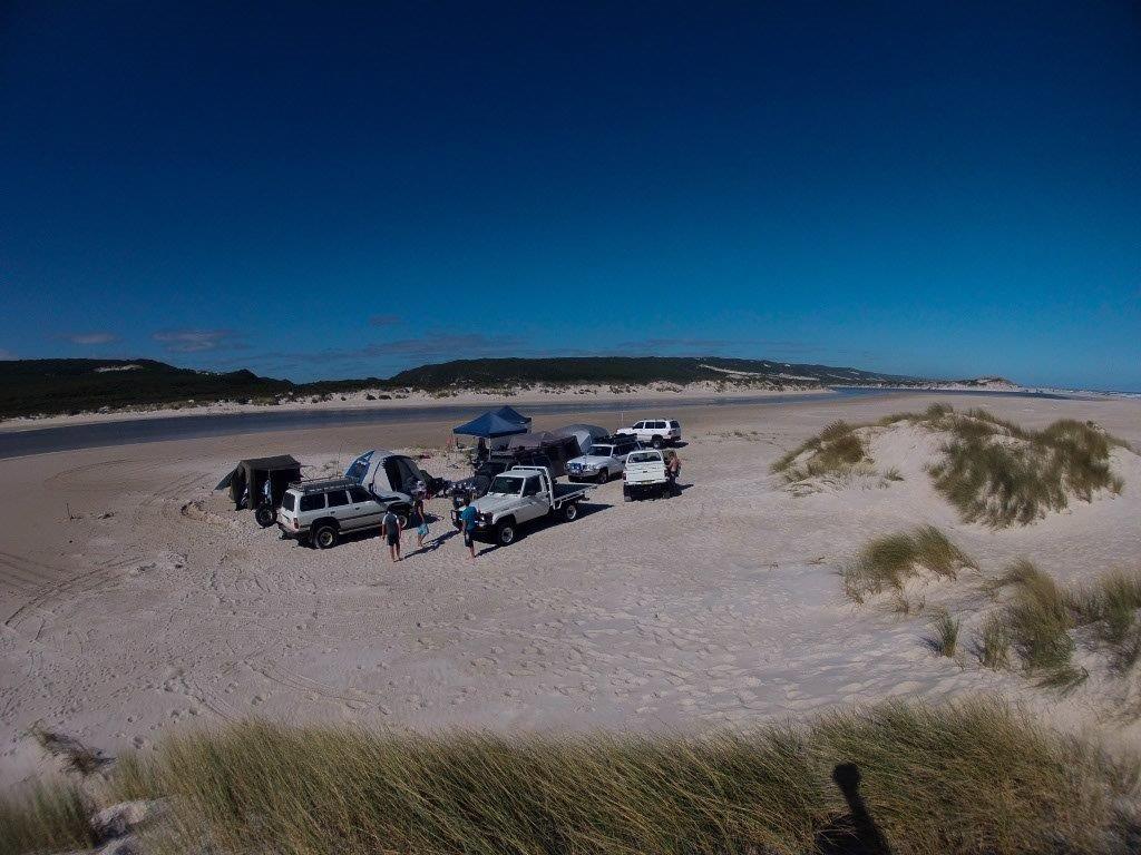 Camping at Yeagarup