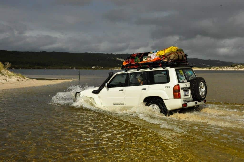 Drowned 4WD