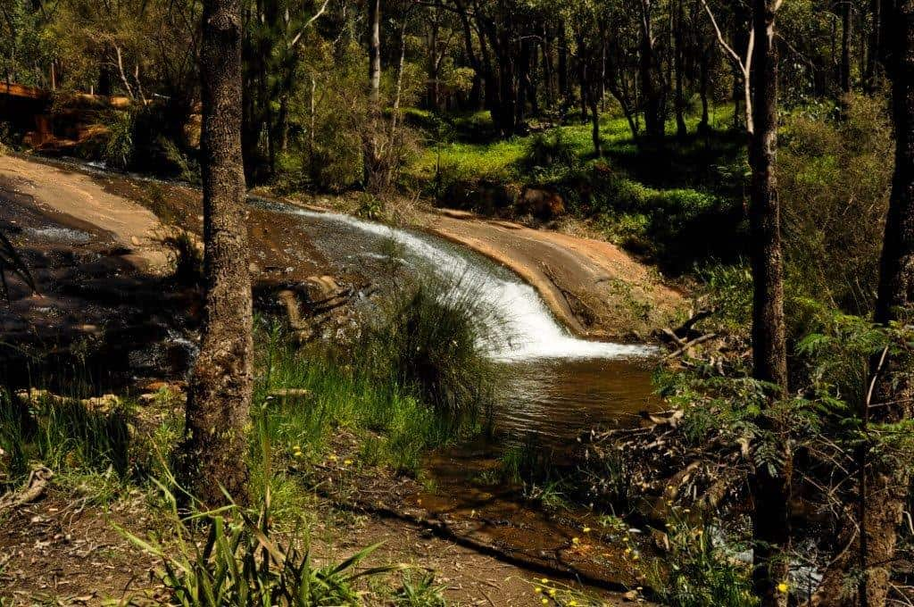 Dwellingup waterfall
