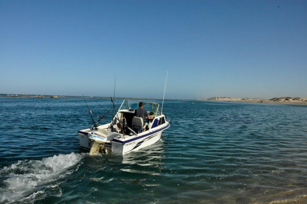 Lucky Bay near Kalbarri