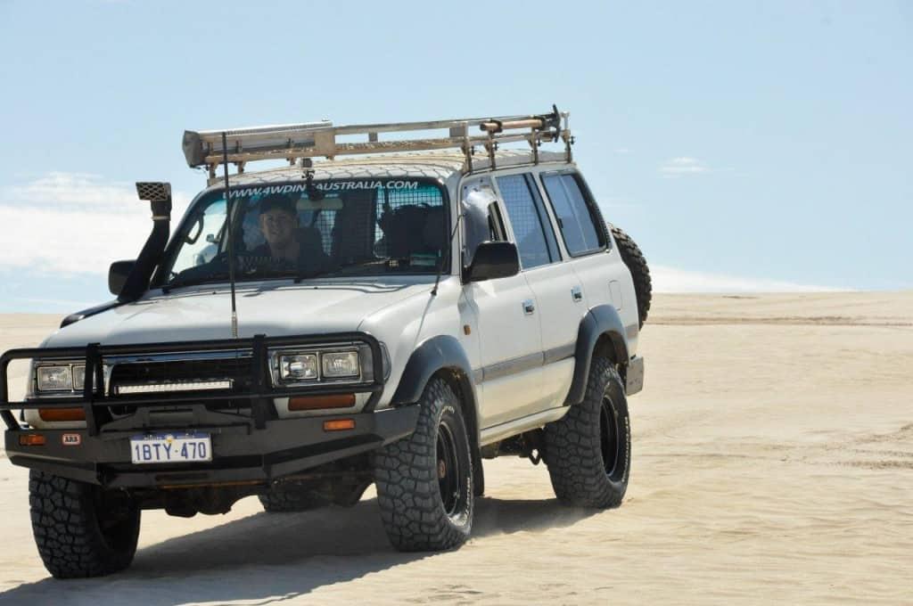 80 series in the dunes