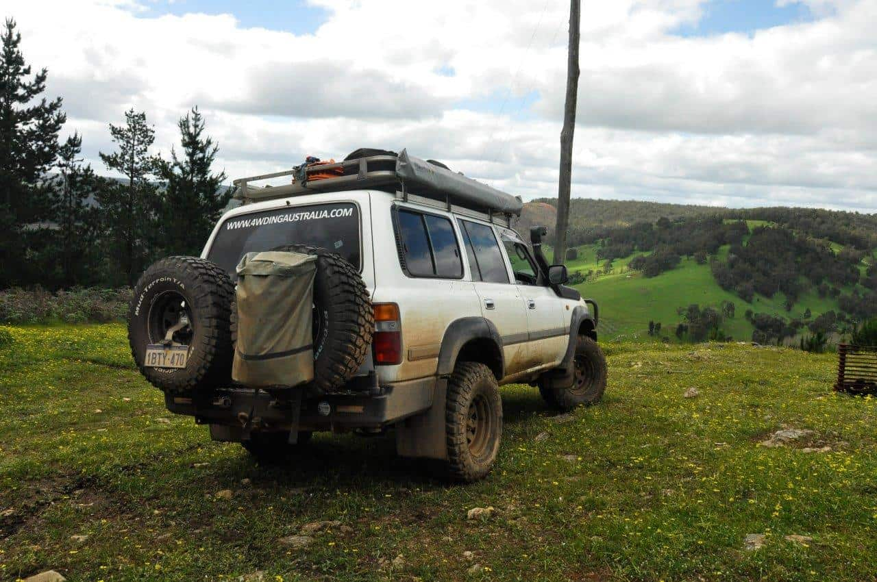 4WD tyres; how many do you run